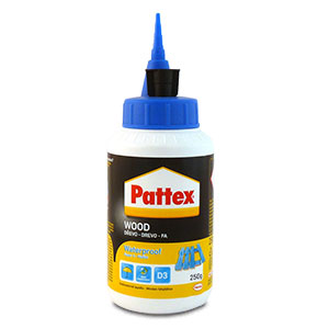 Pattex WOOD Waterproof Super 3 250g