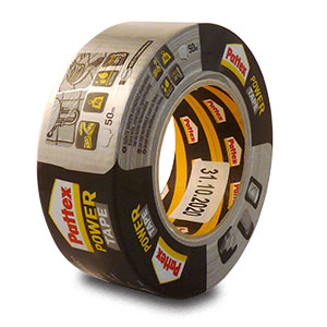 Pattex Power Tape lepicí páska stříbrná 50 mm x 50 m